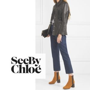See by Chloe suede boots